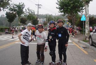 춘천 인라인 마라톤 대회